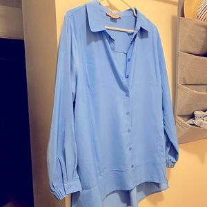 Boyfriend Fit Blouse size 1x